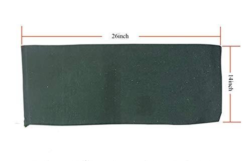 OriginA Empty Sandbag Flood Barrier Sand Bags for Flood Control, Eco-Friendly, 14x26in, 20 Pack, Green by OriginA (Image #3)