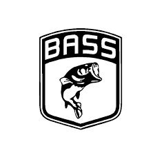 Bass Van (Bass Shield PREMIUM Decal 5 inch BLACK | Fishing | Hunting | Hook | Trout | Bass | Antler | car truck van laptop macbook bumper sticker)