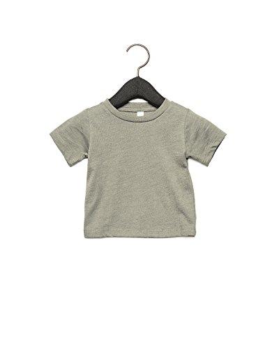 Bella Canvas 3001B Baby Short Sleeve Tee Heather Stone zTqs4M2WJ