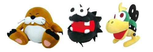 Sanei Set of 3 Super Mario Plush Doll - 6