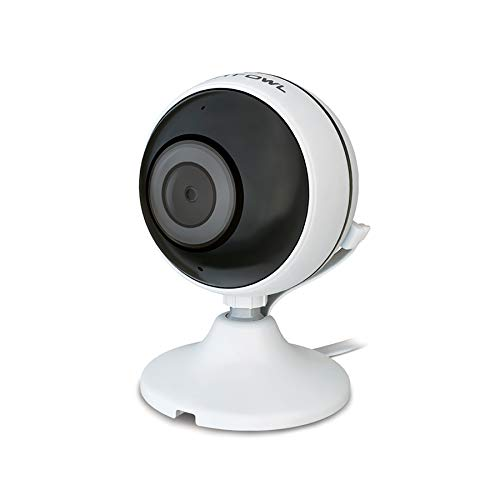 affordable Night Owl Wireless 1080p Panoramic AC Powered Indoor Digital IP Camera with 30 ft. of Night Vision, 2-Way Audio, Motion Detection, Google Assistant Compatible and Remote Viewing Mobile App