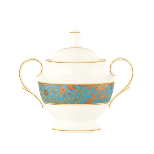 Lenox Gilded Tapestry Sugar Bowl with Lid -  815941