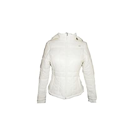 Varlion - Abrigo padel md13w18 clas mujer, talla xs, color blanco