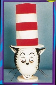 Cat In The Hat Mask (Cat In The Hat Mask W Hat Accessory)