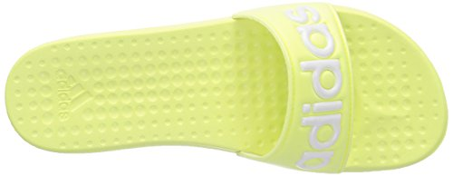 adidas Carodas Slide - Zapatillas De Agua de material sintético mujer amarillo - Gelb (Light Flash Yellow S15/Zero Met./Light Flash Yellow S15)