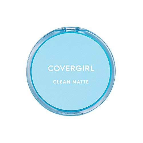 CoverGirl Clean Oil Control Pressed Powder, Warm Beige  545, 0.35 Ounce Pan (Pack of 2)
