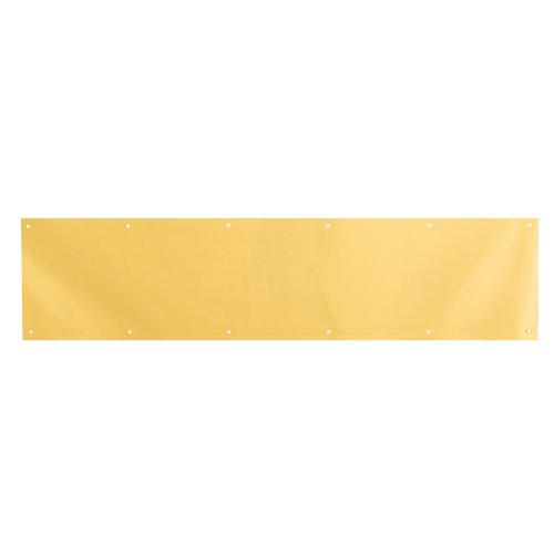 Prime-Line Products J 4618 8 X 34-Inch Brita Brass on Aluminum Door Kick Plate by PRIME-LINE (Image #1)