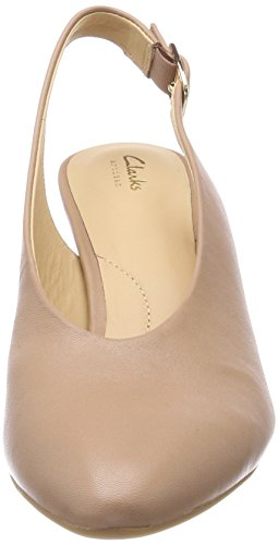 Leather Calla Femme Beige Violet beige Escarpins Clarks WqdgwYcOw