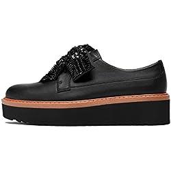 Zara Women Platform derby shoes with bow 6422/201 (36 EU | 6 US | 3 UK)