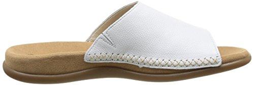 Gabor Shoes Gabor - Zuecos para mujer Weiß (weiss)