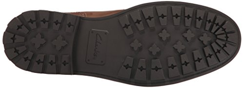CLARKS Chukka Leather Boot Men's Brown Currington Top Zr6ZRq