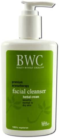 Beauty Without Cruelty Herbal Cream Facial Cleanser, 8.5 Ounces