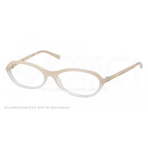 - Prada Pr05ov Eyeglasses Ead1o1 Ivory Demo Lens 53 16 135