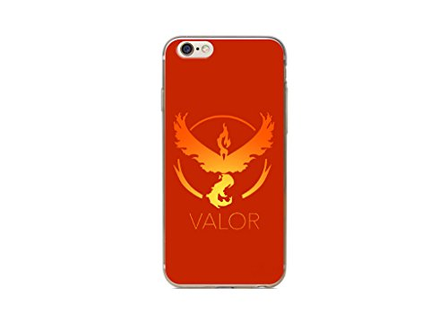 iPhone 5/5s Pokemon Estuche de Silicona / Cubierta de Gel para Apple iPhone 5s 5 SE / Protector de Pantalla y Paño / iCHOOSE / Team Instinct Team Valor
