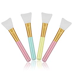 Cuttte 4pcs Silicone Face Mask Brushes, ...