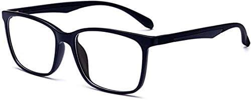 nobrand Blue Light Blocking Glasses Lightweight Eyeglasses Frame Filter Blue Ray Computer Game