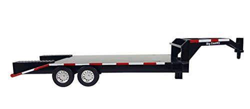 Hay Trailer - Big Country Flatbed Trailer - 1:20 Scale - Gooseneck Trailer - Toy Trailer - Farm Toys