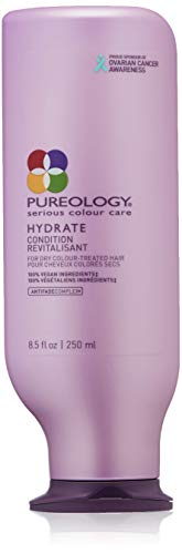Pureology Hydrate Moisturizing Conditioner, For Medium to Thick Dry, Color Treated Hair , 8.5 oz