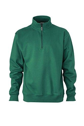 Alto Collo E Felpa Dark Con green Nicholson Jamesamp; Zip ONwPyv8m0n