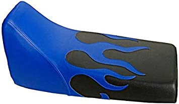 VPS Seat Cover Compatible With Yamaha Blaster 200 Blue and Black Seat Cover