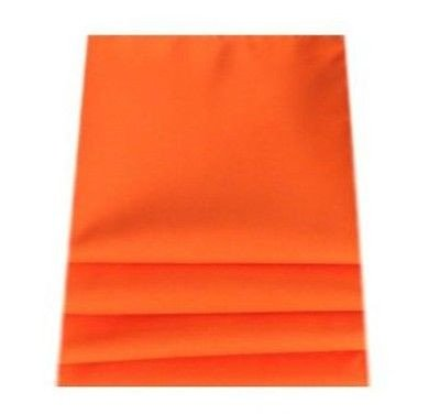 Tangerine Napkins: Set of 8 by Super Cool Creations