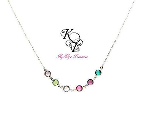 Mother Necklace Birthstone Jewelry Birthstone Necklace Mom Christmas Gift Mothers Jewelry Grandma Necklace
