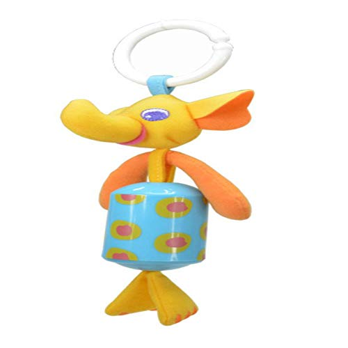 YGHTXt Baby Gift Registered Mail Baby Animal Wind Rattles Crib and Pram Hanging S Educational Toys Infant Plush Dolls