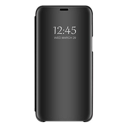 Carcasa compatible con iPhone 6, con tapa vertical y espejo inteligente, a prueba de arañazos, impermeable, para iPhone 6/6...