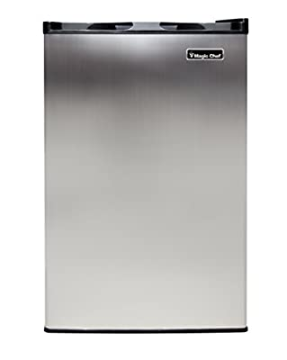 Magic Chef MCUF3S2 3.0 cu. ft. Upright Freezer Stainless Look