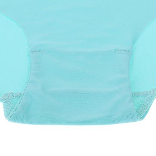 MagiDeal Calzoncillos Suaves sin Costura para Mujer Lencería Hipster Ropa Panties de Chicas Azul