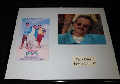 Terry Kiser Signed Framed 16x20 Photo Display AW Weekend at Bernie's