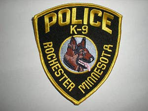 Rochester, Minnesota Police Department K-9 Unit Patch by HighQ -