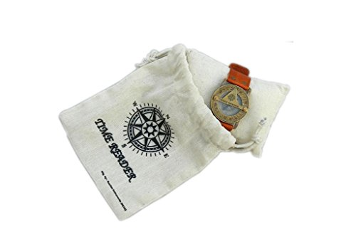 Mens, Womens Steampunk reloj brújula muñeca Watch, reloj solar unisex Watch.