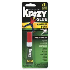 Elmers Advanced Formula Krazy Glue (Advanced Crazy Glue Gel, Maximum Bond, 4g Tube, Sold as 1 Each)