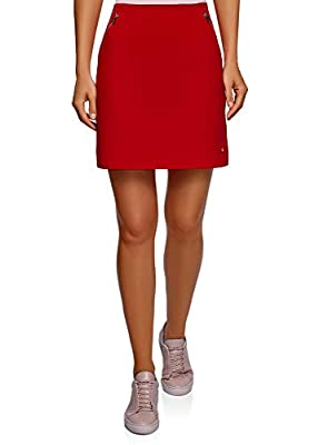 oodji Ultra Women's Mini Skirt with Pockets