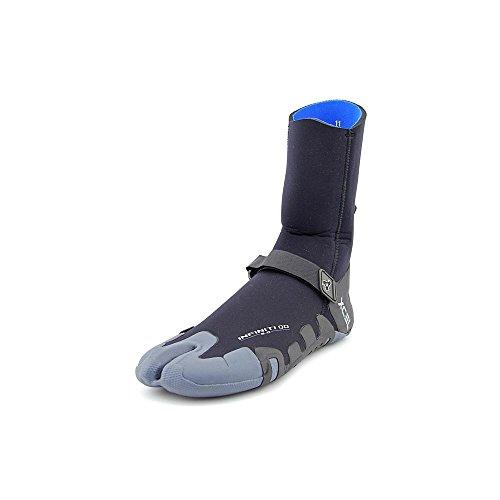 Xcel Wetsuits 5mm Infiniti Split Toe, Black/Grey, 9 (Boot 5mm Ultra Dive)