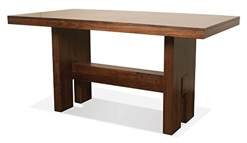 Riverside Dining Furniture - Dining Table in Casual Walnut Finish