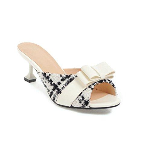 Sandali Sabot Donna Sabot JITIAN Bianco Donna JITIAN Sabot Sandali Sandali Bianco Donna JITIAN O1qZIwnZ