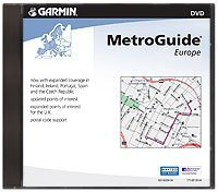 Garmin MapSource European MetroGuide V9 CD-ROM for Garmin GPS Units (010-10370-00)