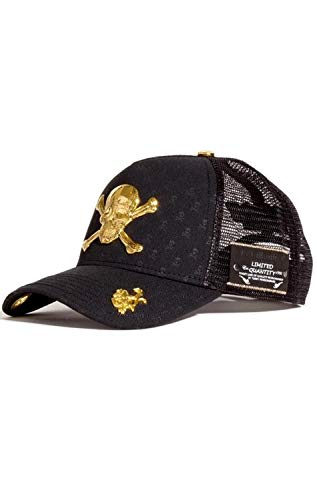 Red Monkey Skull & Bones Back New Unisex Fashion Trucker Cap Hat