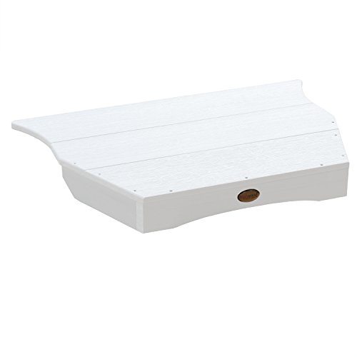 Highwood Adirondack Tete-a-tete Connecting Table, White ()