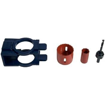 MIBRO 300681 Carbon Steel Door Lock and Deadbolt Installation Kit for Wood Doors