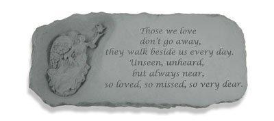Those We Love Angel Bench