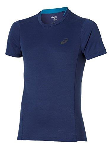 Asics T shirt show Lite Blu Corsa qrxqtfF
