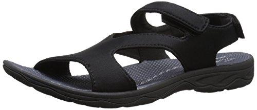 easy-spirit-womens-yogala-flat-sandal-black-fabric-75-m-us