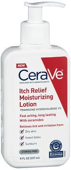 Moisturizing Lotion Anti Itch - CeraVe Itch Relief Moisturizing Lotion - 8 oz, Pack of 2