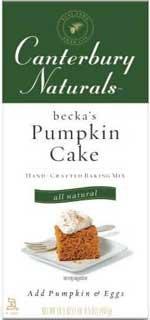 Canterbury Naturals Beckas Pumpkin Cake Mix (2x16.5oz)