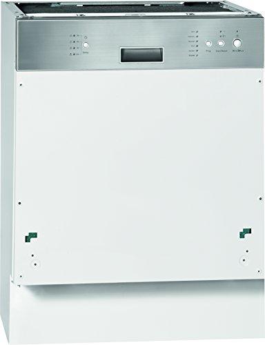 Bomann GSPE 773.1 teilintegrierbarer Geschirrspüler / Einbau /A+ A / 12 Maßgedecke / 55 db / Edelstahl / 60 cm