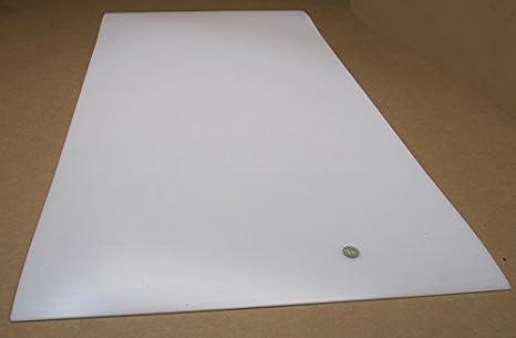 ".125/"" Natural HDPE Plastic Sheet 1//8/"" x 8/"" x 12/"""