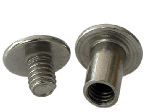 3/8 inch Stainless Steel Chicago Screws Screw Posts 36 Sets ()